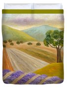 Lavender Sundown Duvet Cover