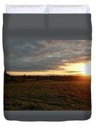 Mount Mansfield September Sunrise Seven Duvet Cover