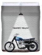Triumph Trophy Tr6 Duvet Cover
