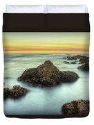 Asilomar Sunset Duvet Cover