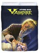Atomic Vampire Duvet Cover