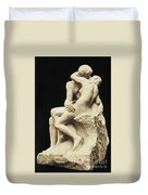 Auguste Rodin The Kiss, 1886 Marble Sculpture Duvet Cover