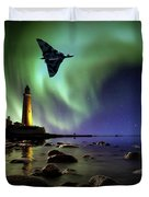 Auroral Splendour For The Vulcan Duvet Cover