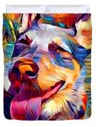 Australian Cattle Dog 2 Duvet Cover