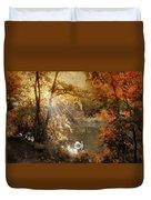 Autumn Afterglow Duvet Cover