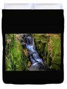 Autumn At Pewits Nest Duvet Cover by Dawn Richards