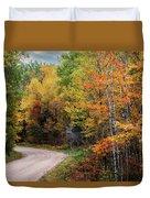 Autumn Buck  Duvet Cover by Patti Deters
