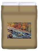 Autumn Cascade Duvet Cover