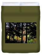 Autumn Colors At The Spa  Duvet Cover