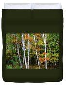 Autumn Grove, Wisconsin Duvet Cover by Dawn Richards