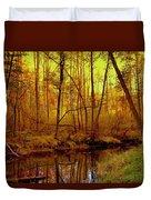 Autumn - Krasna River Duvet Cover