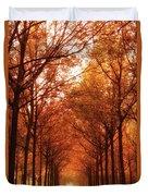 Autumn Lights At Groeneveld Duvet Cover