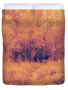 Autumn Mystery Duvet Cover by David King