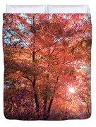 Autumn Path Reimagined Duvet Cover
