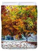 Autumn Trees Duvet Cover