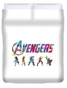 Avengers Team Duvet Cover