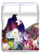 Awakening Of Nature. Duvet Cover