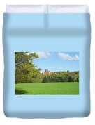 Ayton Castle From South, Berwickshire Duvet Cover