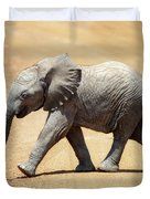 Baby African Elephant Duvet Cover