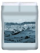 Badlands Shadows And Sunlight Duvet Cover