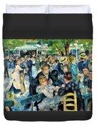 Bal Du Moulin De La Galette - Digital Remastered Edition Duvet Cover