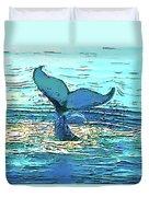 Balene-whales Duvet Cover