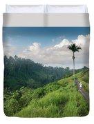 Bali Pathway Duvet Cover