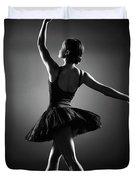 Ballerina Dancing Duvet Cover