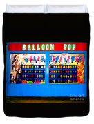 Balloon Pop Duvet Cover