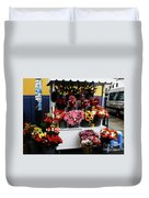 Baranco Bouquets Duvet Cover by Rick Locke