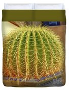 Barrel Cactus Royal Palms Phoenix Duvet Cover