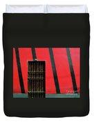 Bars And Stripes Duvet Cover by Rick Locke