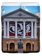 Bascom Hall - Madison - Wisconsin Duvet Cover