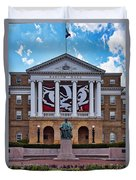 Bascom Hall - Madison - Wisconsin Duvet Cover