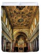 Basilica Di San Crisogono Duvet Cover
