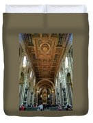 Basilica Di San Giovanni In Laterano Duvet Cover