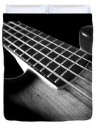 Bass Guitar Musician Player Metal Rock Body Duvet Cover