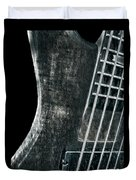 Bass Guitar Musician Player Metal Rock Duvet Cover