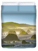 Bay In California Duvet Cover