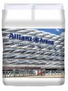Allianz Arena Bayern Munich  Duvet Cover