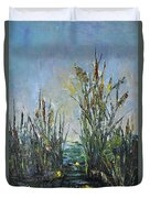 Bays Of The River Duvet Cover