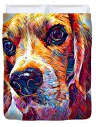Beagle 3 Duvet Cover