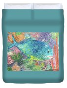 Beauty Of The Reef Duvet Cover