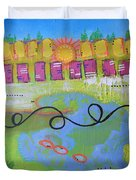 Beautiful Day In The Neighborhood Duvet Cover
