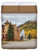 Beautiful Small Town Rico Colorado Duvet Cover