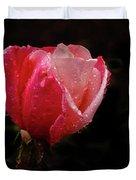 Beautiful Wet Rose Duvet Cover