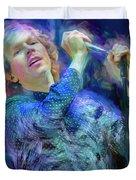 Beck Singer Songwriter Duvet Cover