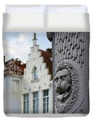 Belgian Coat Of Arms Duvet Cover by Nathan Bush