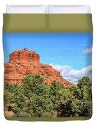 Bell Rock, Sedona Duvet Cover by Dawn Richards