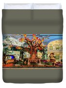 Bellagio Conservatory Enchanted Talking Tree Ultra Wide 2018 2.5 To 1 Aspect Ratio Duvet Cover